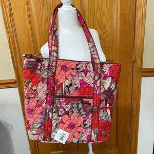 "Vera Bradley ""Vera"" Large Tote Bag NWT"